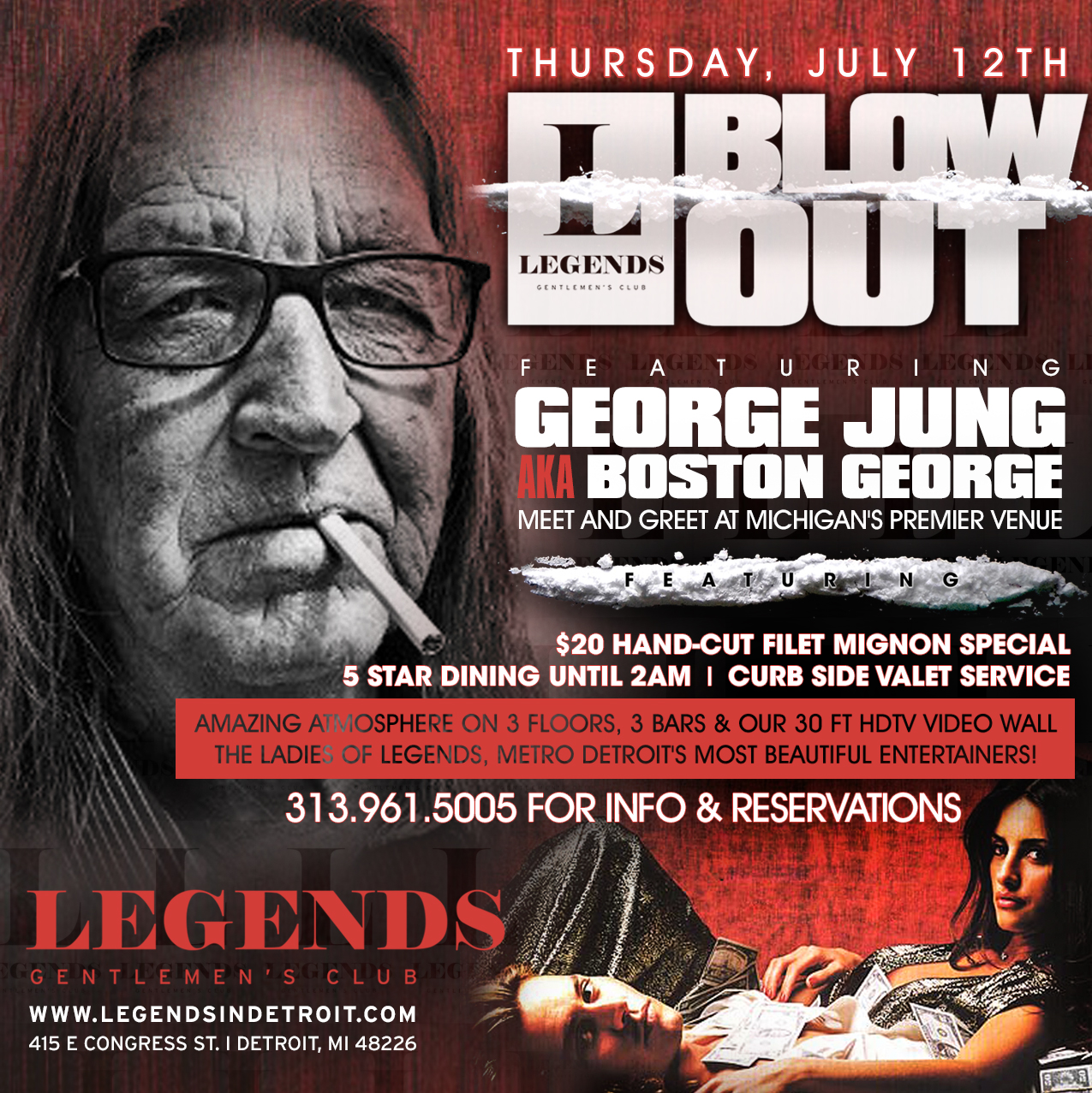 Blow Out Featuring George Jung Aka Boston George Legends Club